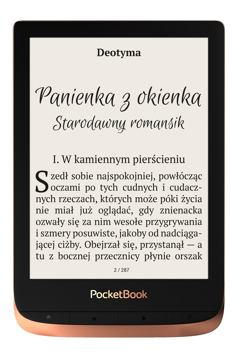 PocketBook Touch HD 3 Wi-Fi meď