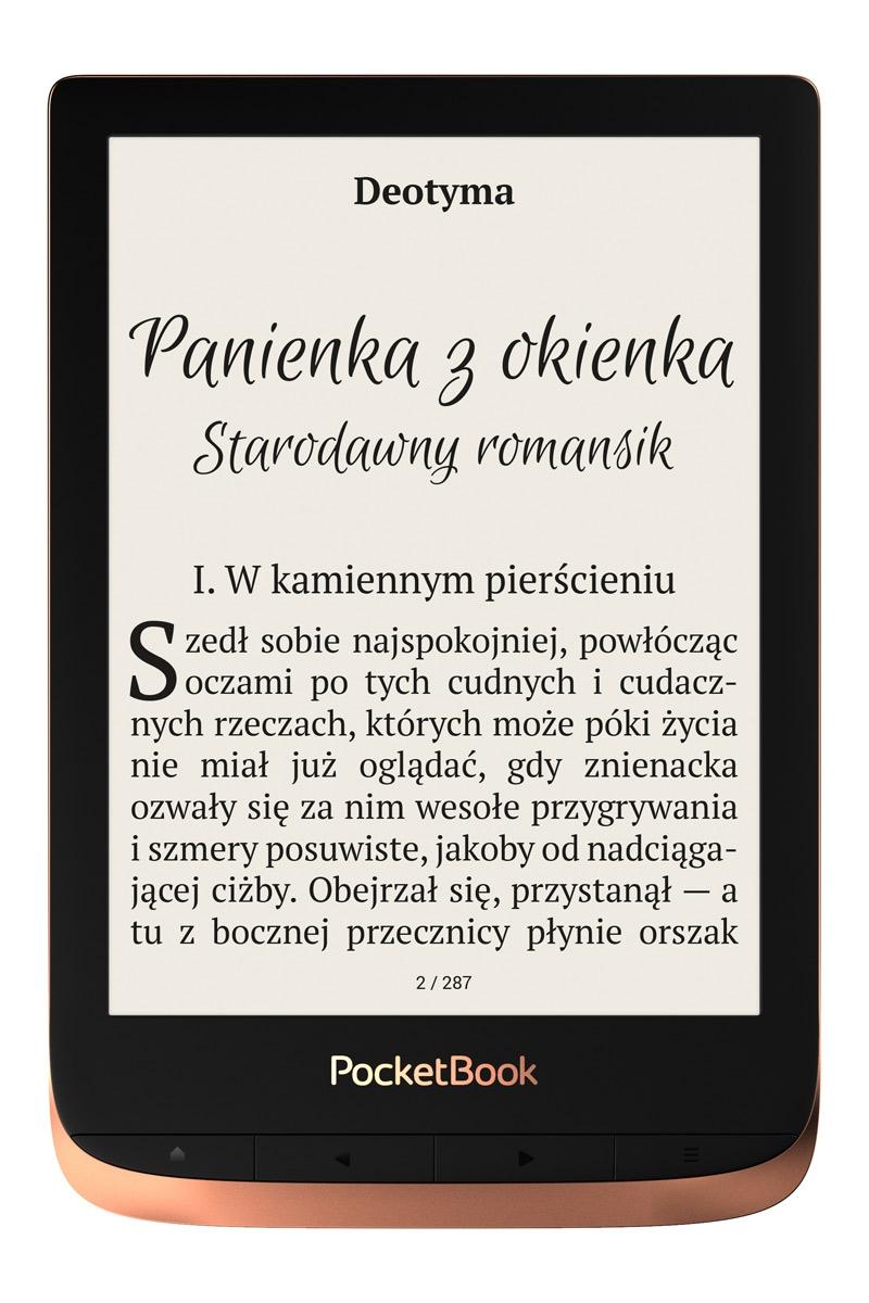 Czytnik e-booków PocketBook Touch HD 3 Wi-Fi miedź