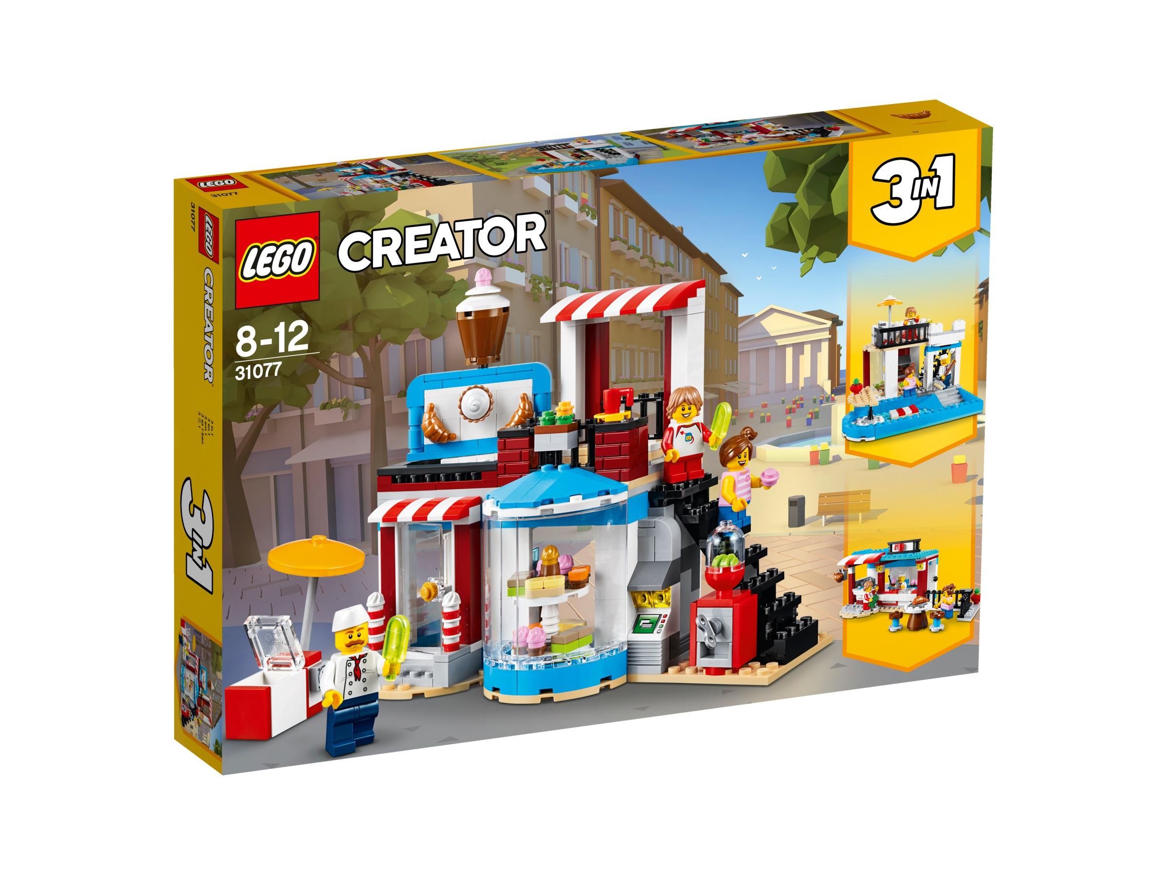 LEGO Creator Sladké prekvapenie 31077