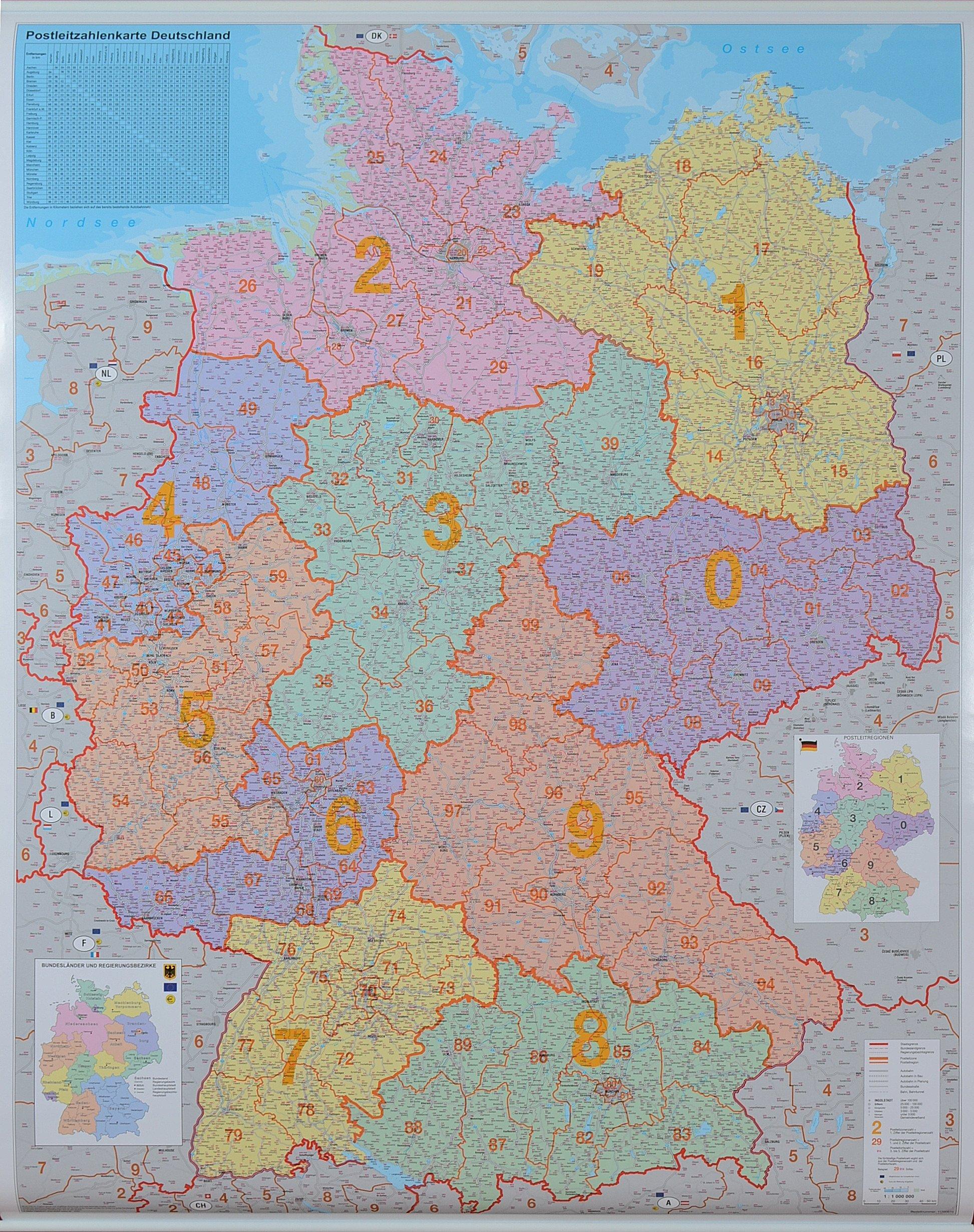 Bawaria landy mapa niemiec ▷ Landy