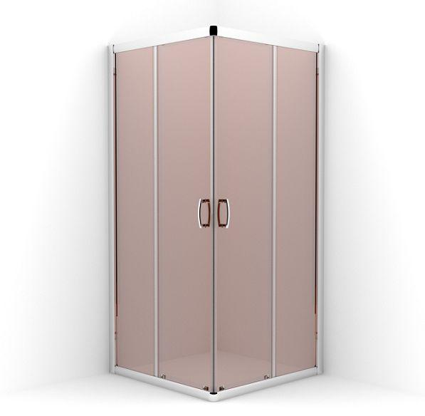 Sprcha RADAWAY PREMIUM PLUS C 100x100 HNEDÁ