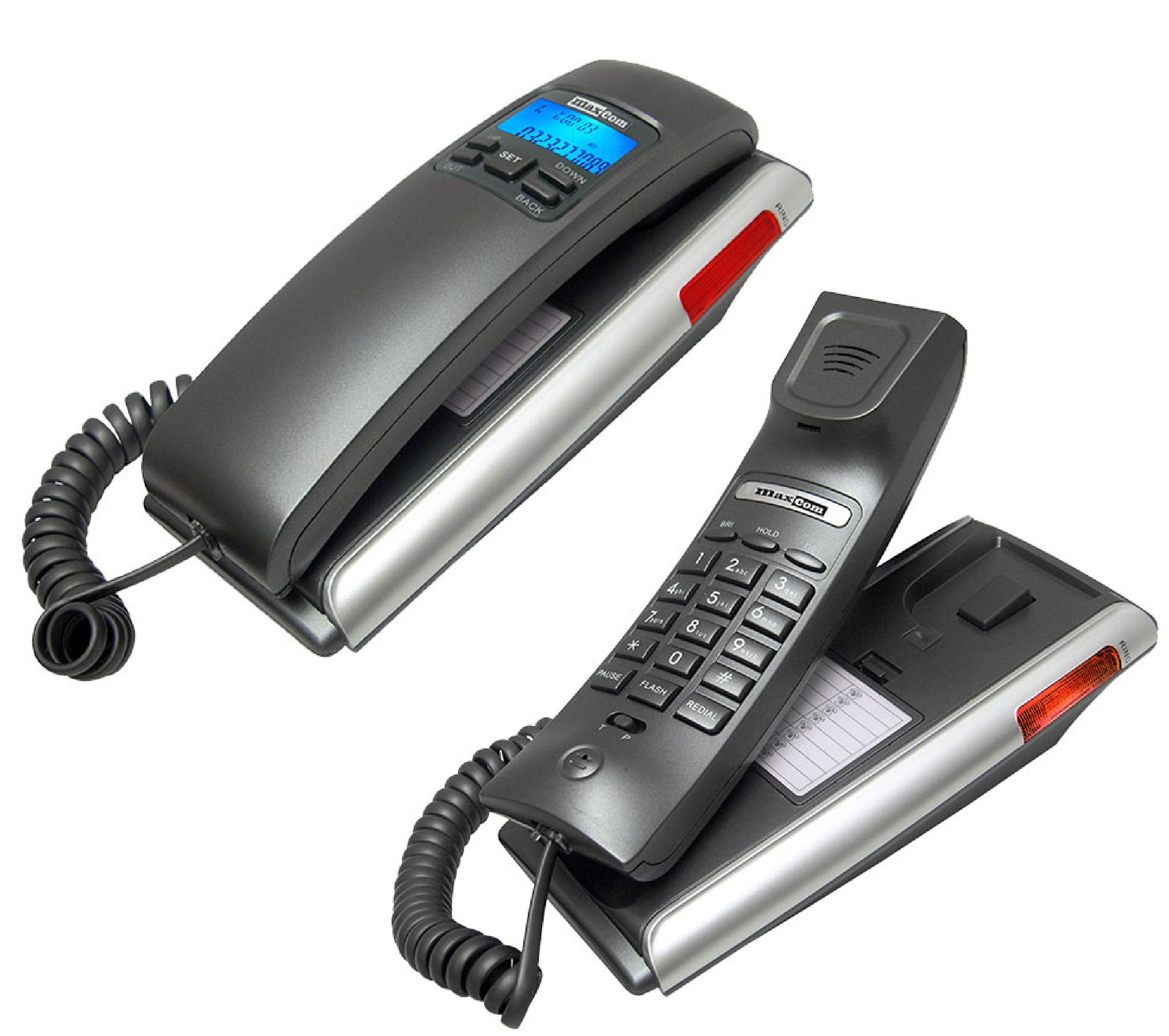 Item MAXCOM LANDLINE PHONE KXT400 wall mounting
