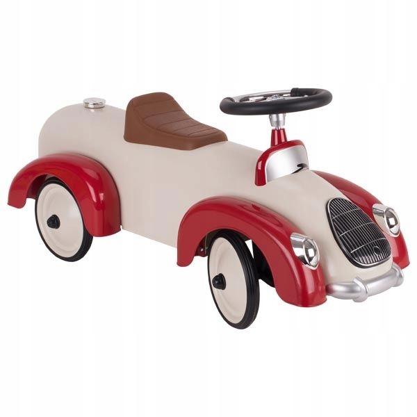 Retro kovové tlačné autíčko + 12m goki