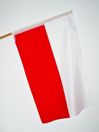 ФЛАГ польский  ФЛАГИ  112 x 70 см Цена опт