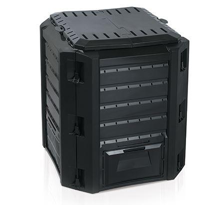 Composter Compogreen Čierny skladací 380l