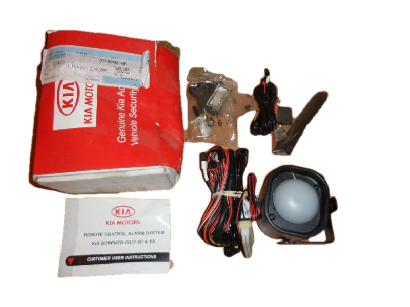 Picture of NEW ORIGINAL ALARM HORN WITH Z CABLE KIA SORENTO