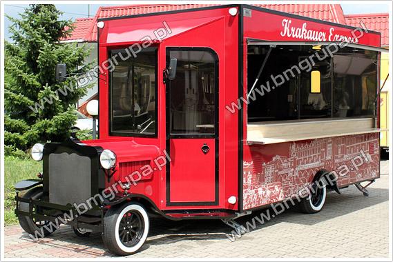 príves, nákladné auto na prepravu potravín, komerčný kontajner, RETRO