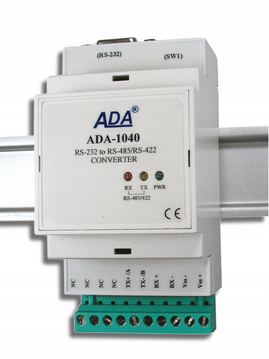 RS-232 Converter na RS-485 / RS-422 ADA-1040 Verzia