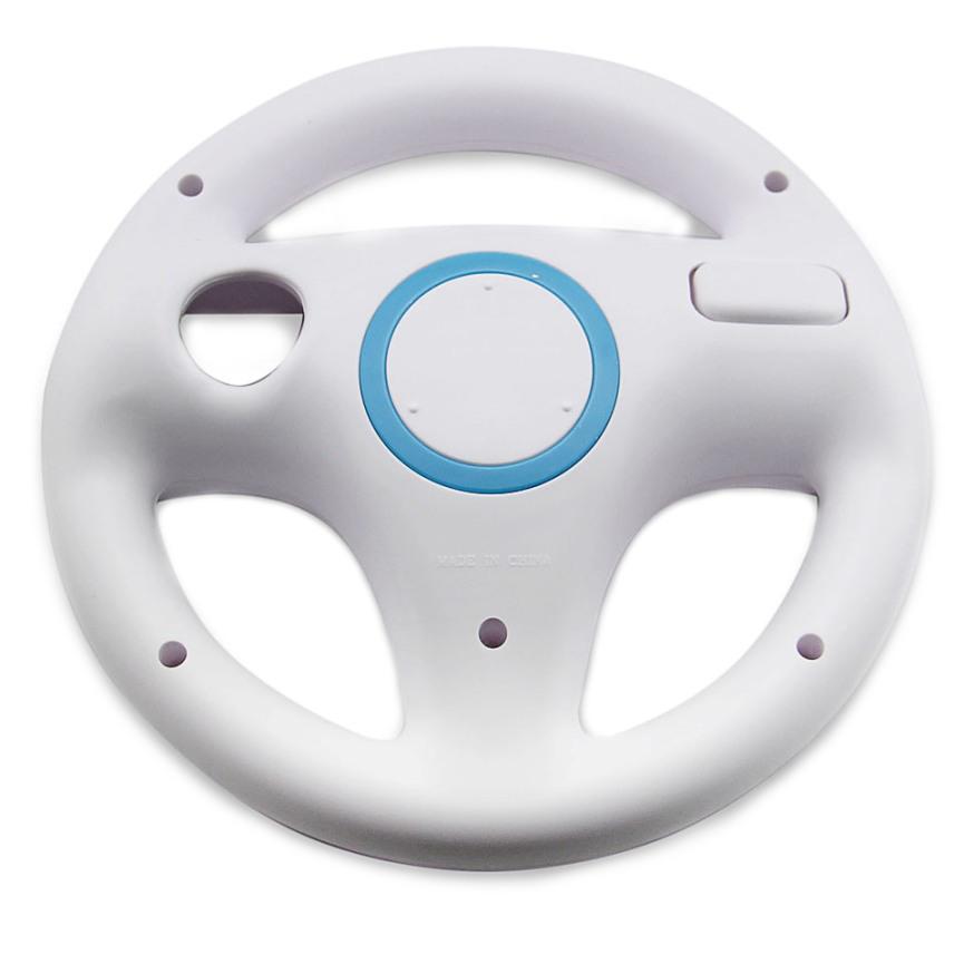 Item Steering wheel for Wii Mario Kart NEW [WHITE]