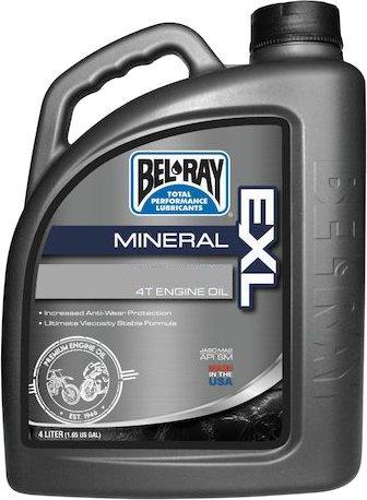 Minerálny olej Bel-Ray Exl 4T 20W-50 4 L MOTOLUKA