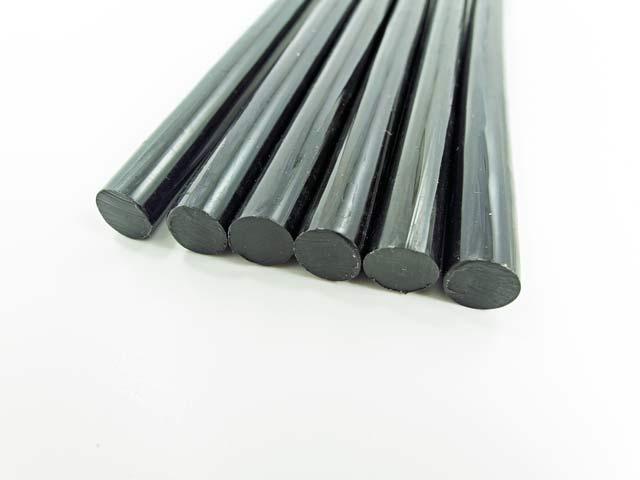 klej uniwersalny czarny 11mm 20cm do klejarek