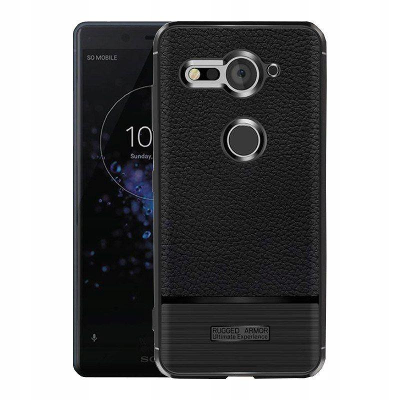 Sony Xperia XZ2 Compact | Solidne Etui | Black