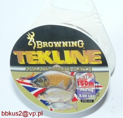 Browning Tekline 012mm 150m zápas