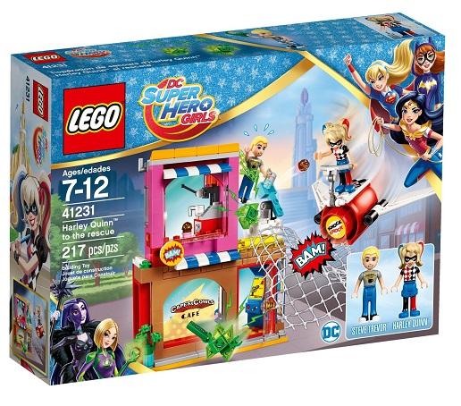 Lego 41231 Super Heroes - Harley Quinn na záchrane