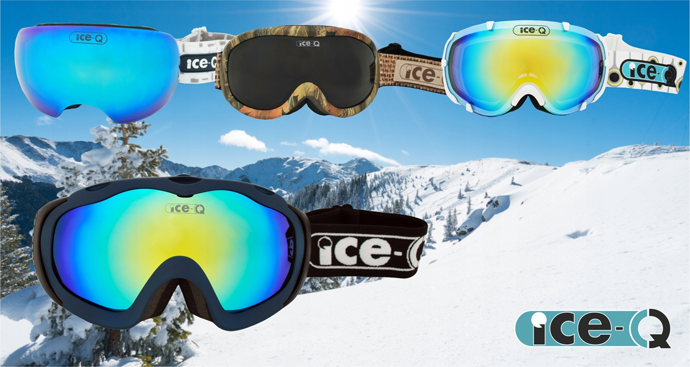 ICE Q Gogle narciarskie Cortina 2 na okulary OTG 7088326071