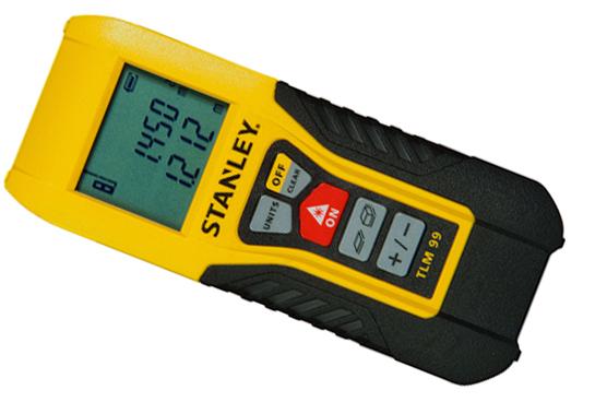Laserový radička 30m TLM99 Digitálne meranie Stanley