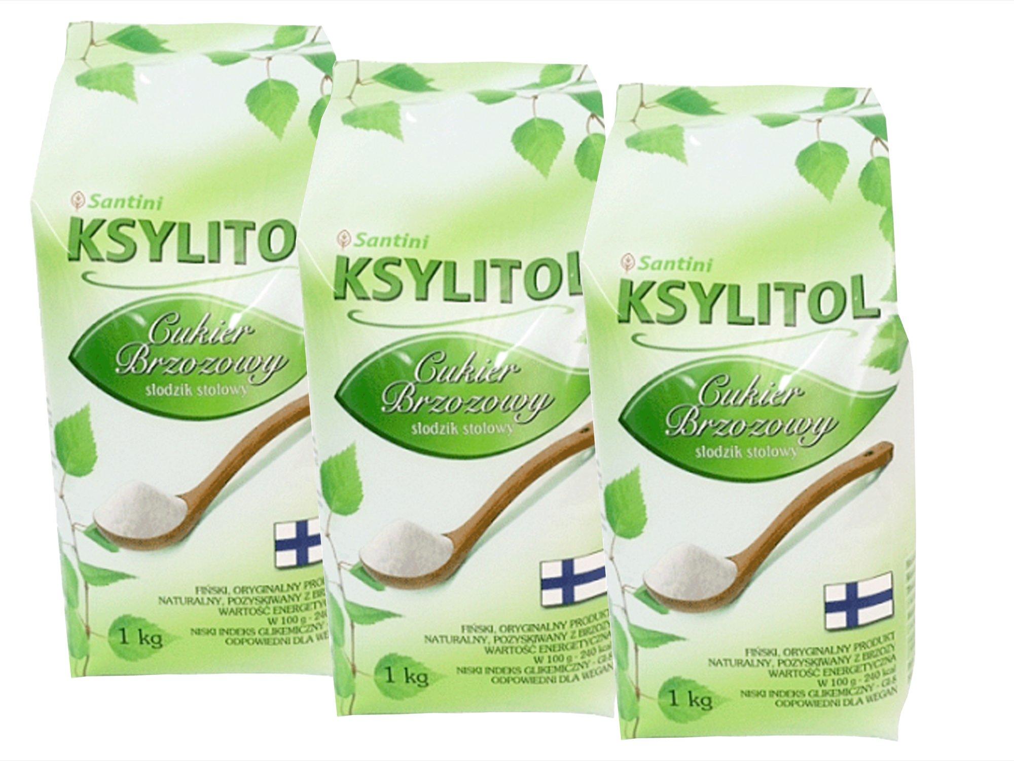 3 kg fínsky XYLITOL 100% breza cukru, xylitol