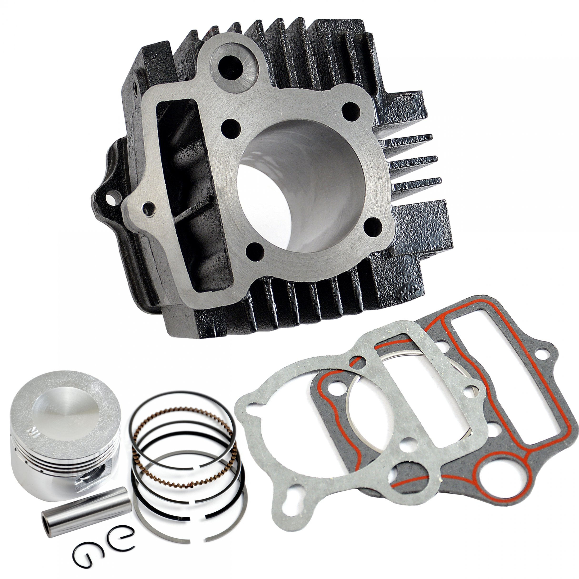 CYLINDER ПОРШЕНЬ PIERŚCIENIE QUAD ATV CROSS 110 125