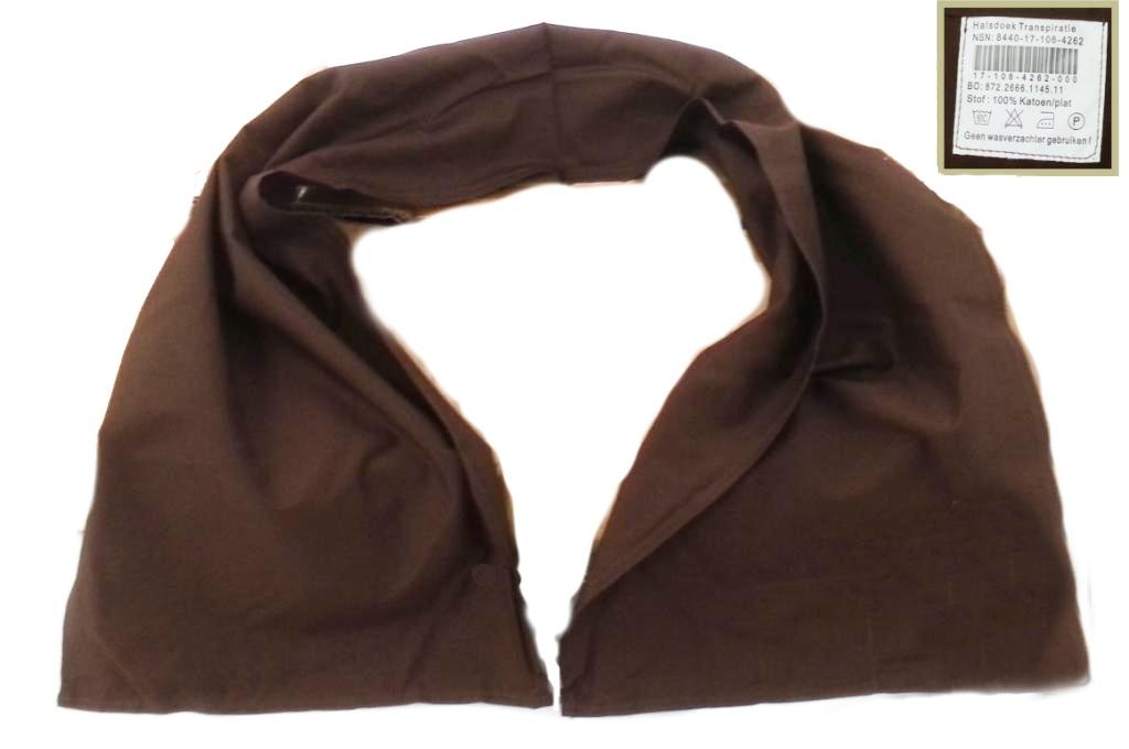 NATO handrový 100x25cm 100% bavlna hnedá nová