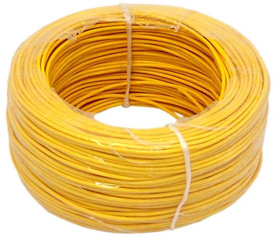 кабель lgy 1 0 мм Желтый 1 m