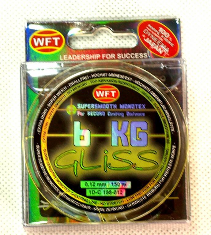 WFT GLISS Rybársky kúsok 0,12 mm, Celadon
