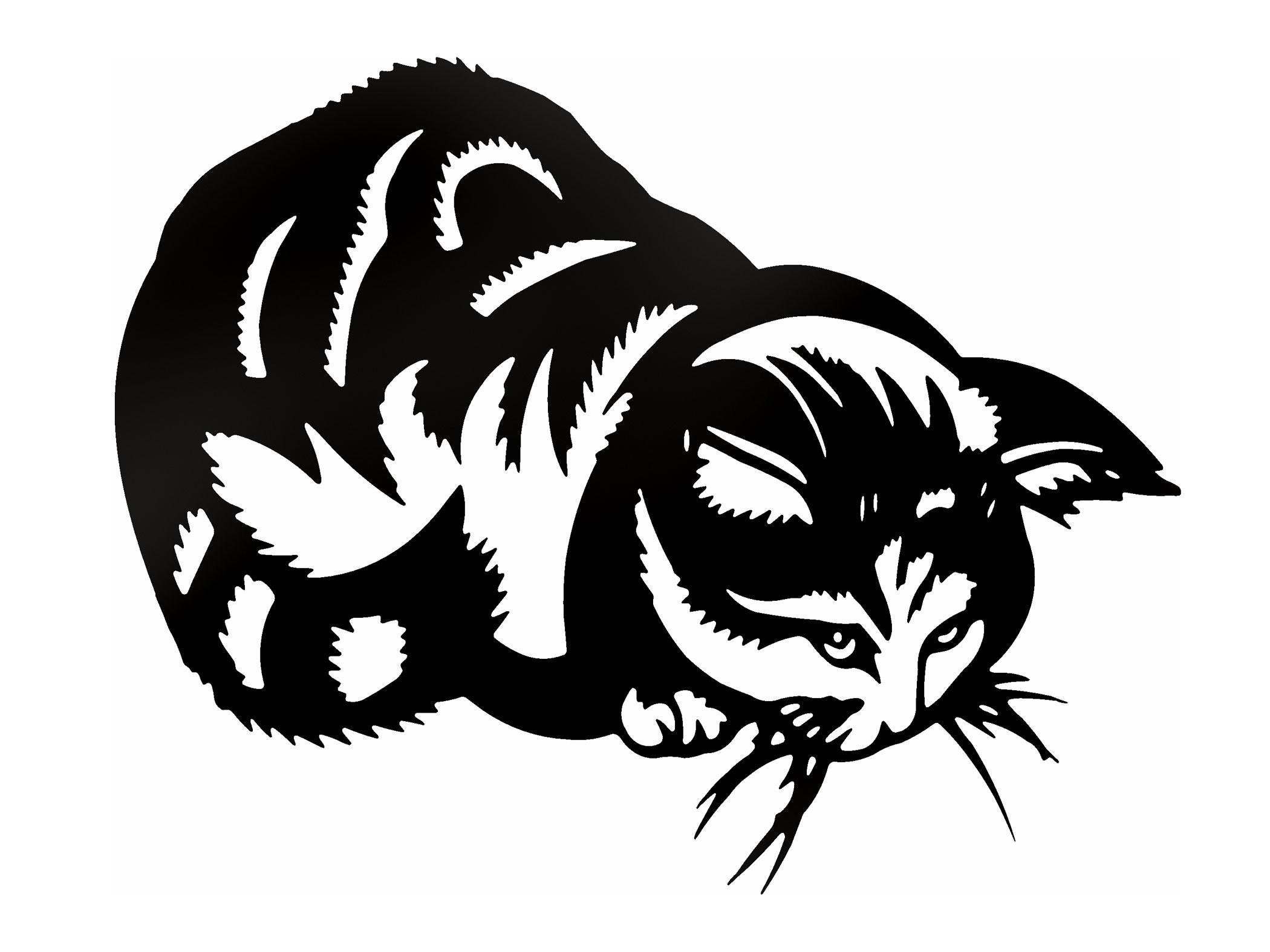 Mačky mačiatka mačiatka Kocry Sticker Sticker Cat!