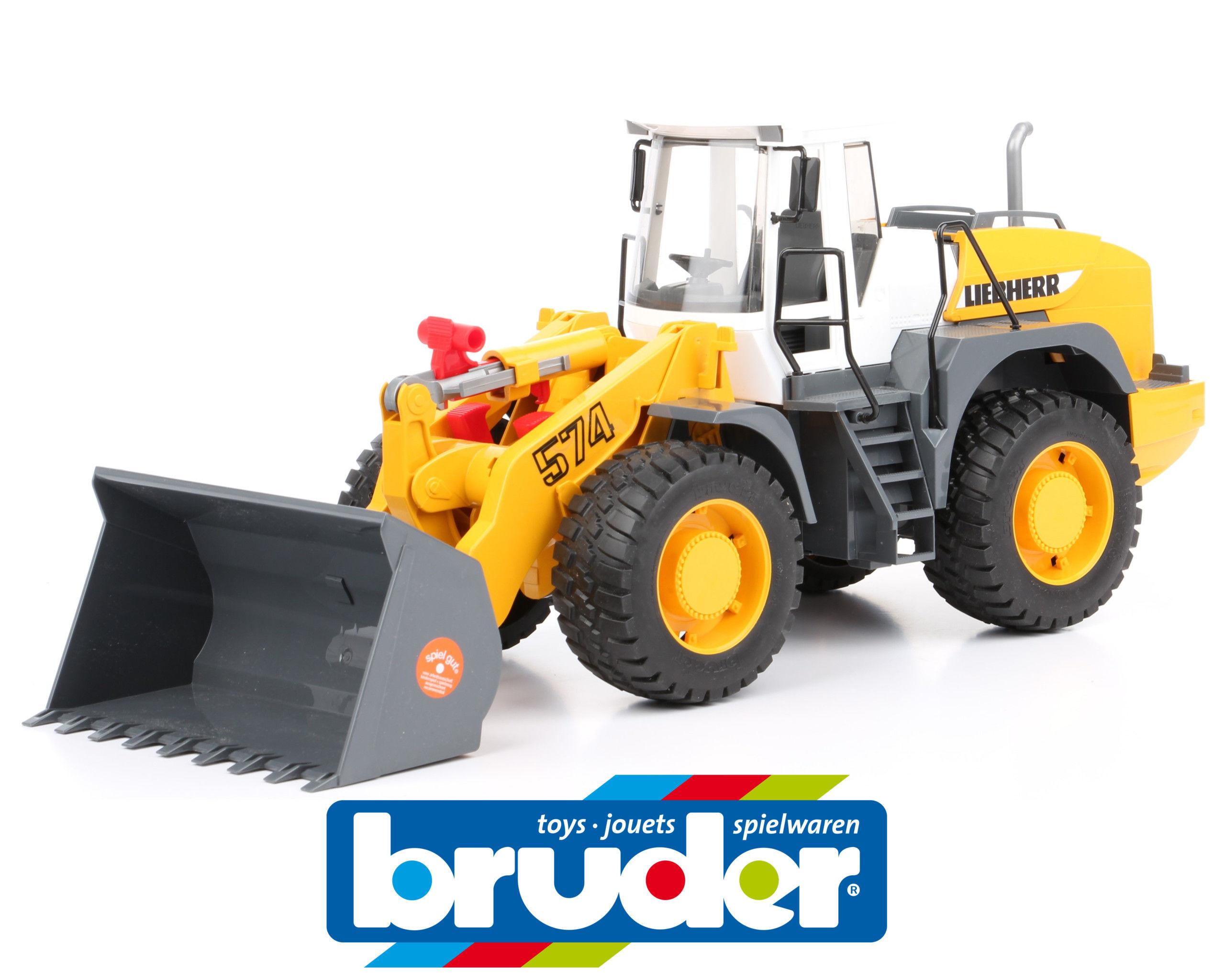 BRUDER 02430 VEĽKÝ nabíjací svetlomet toy model