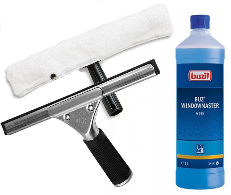 Базовый комплект для мытья окон стекол СУПЕР КАЧЕСТВО