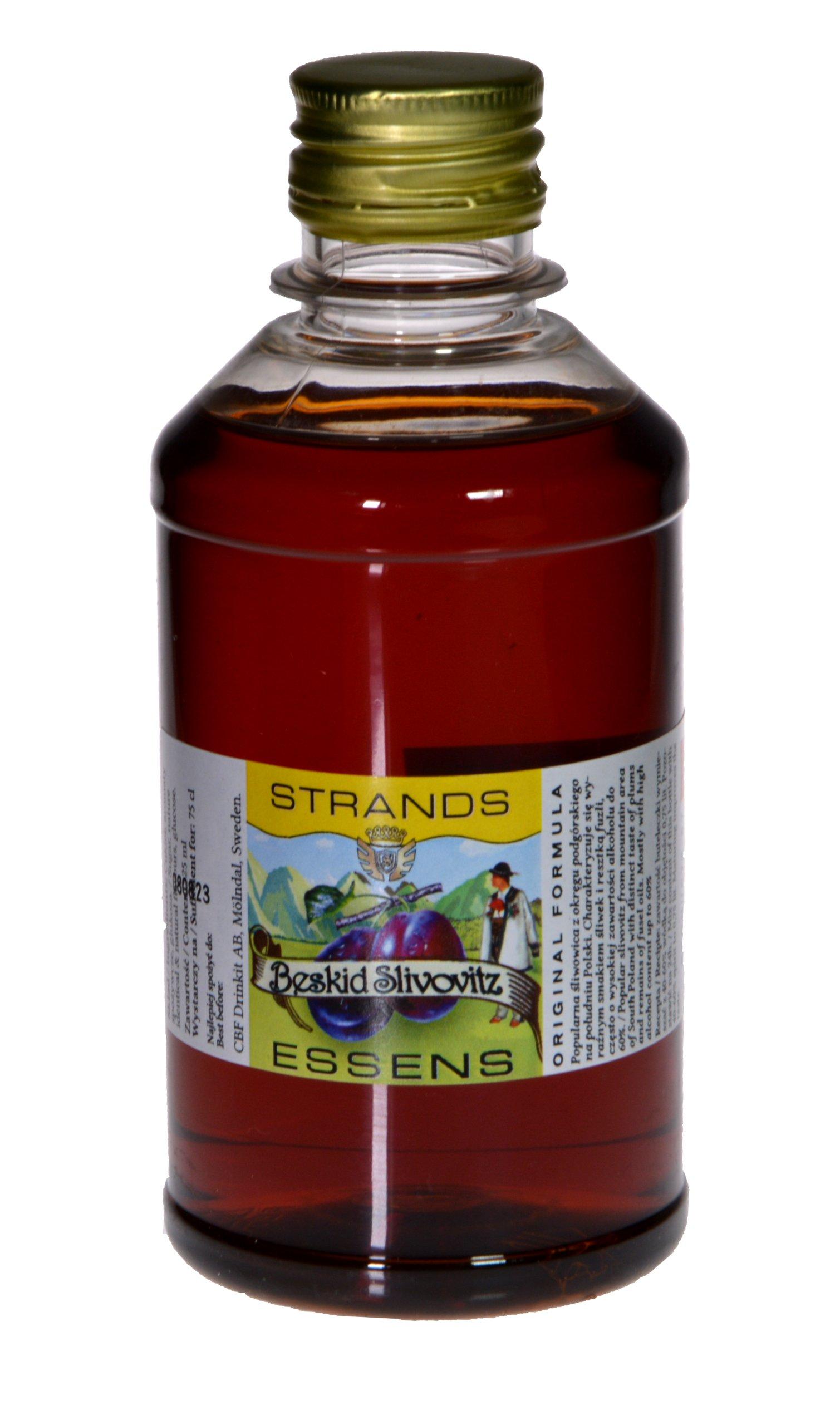 Item Zaprawka Strands of SLIVOVITZ BESKIDZKA-250 ml/7.5 L