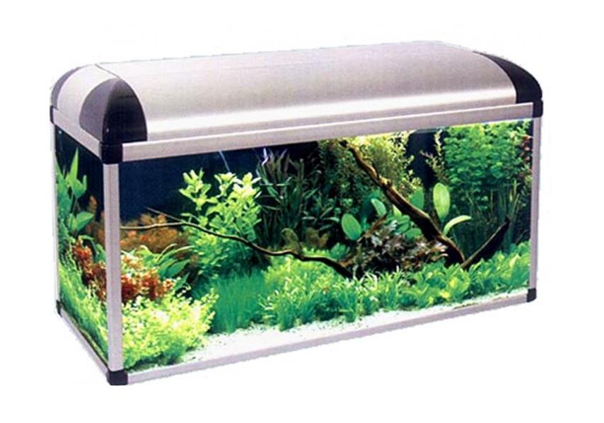 NASTAVIŤ akvárium-sumec DELUX 120x40x60 OBDĹŽNIKOVÝ 240L