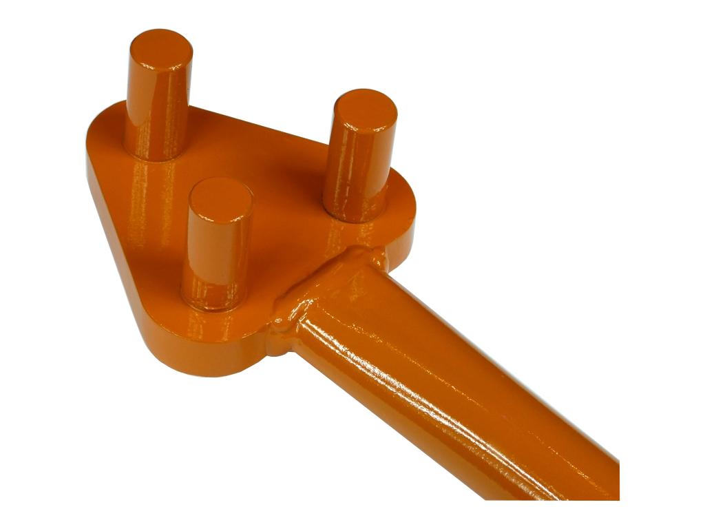 Kľúč pre ohýbanie výstužných tyčí 6-16 KgR-2