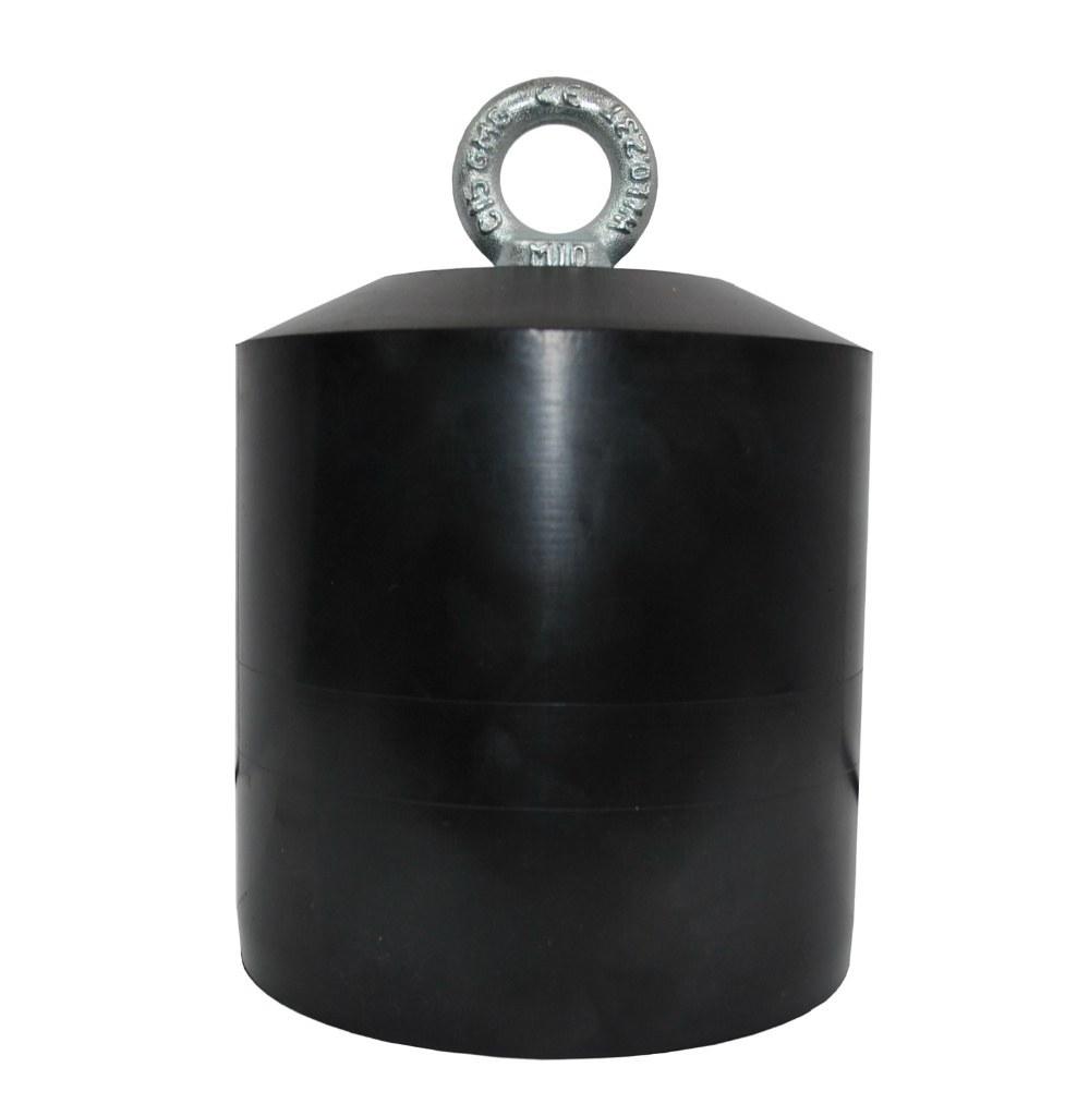 Kotva 14 kg gumy potiahnuté záťaže drift kotvy gumy