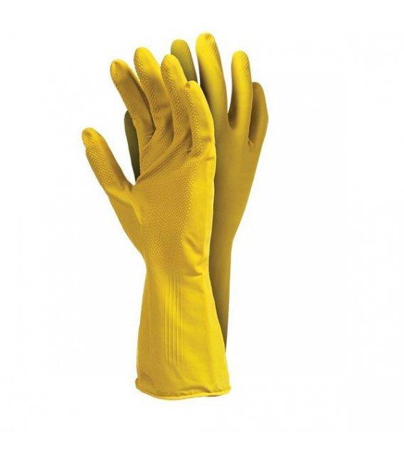 Защитные перчатки резиновые экономические roz. L