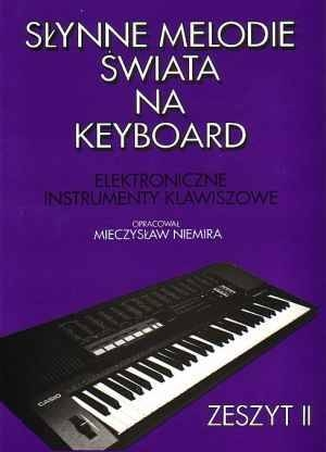 Item The book is well-Known tunes in the world on keyboard cz. 2