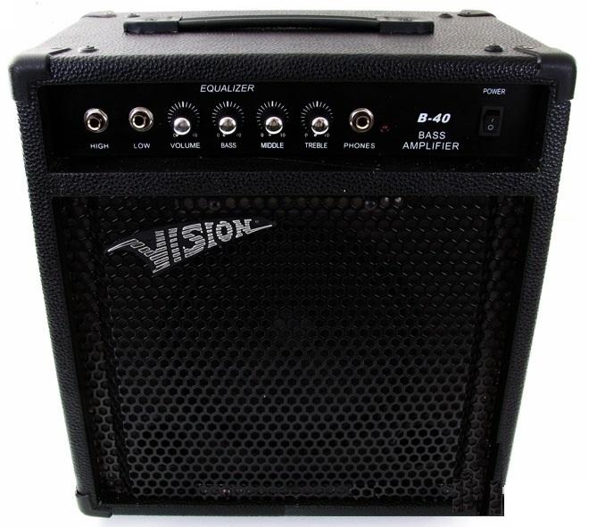 Zosilňovač pre Bass Gitay - Bass 50 Watt Super!