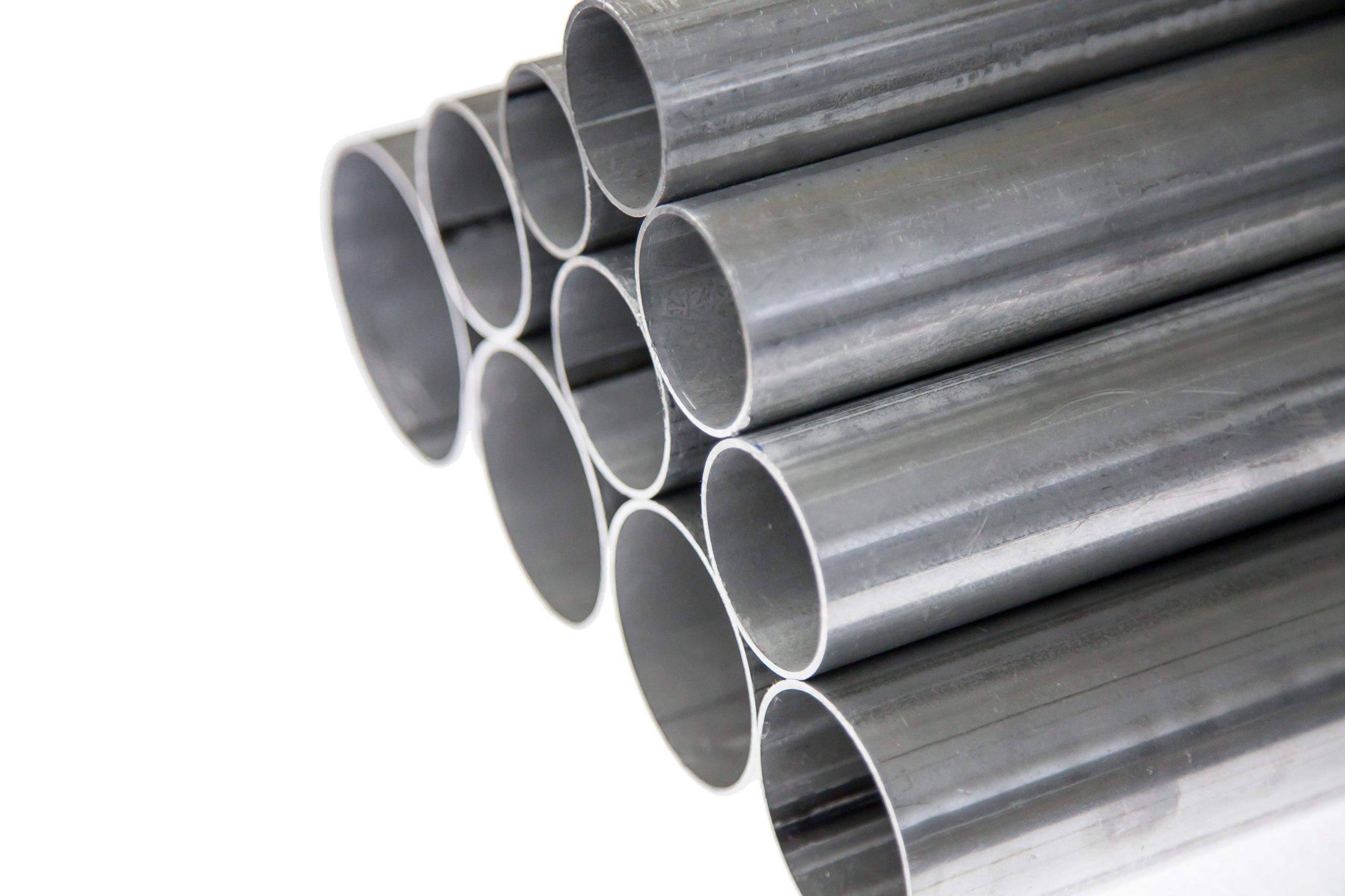 Отрезать трубу прямую алюминированную, размером 50 мм