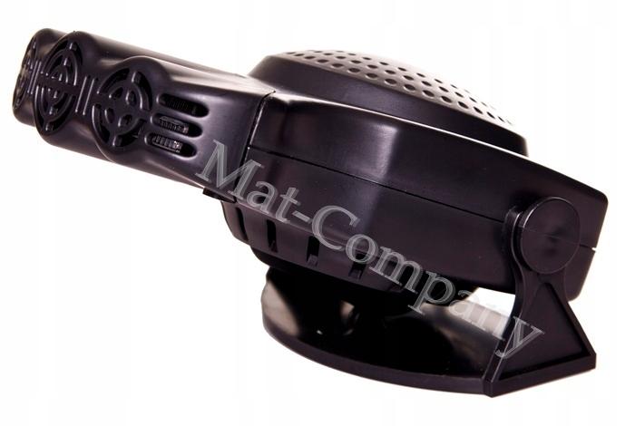 Обогреватель автомобильный вентилятор нагреватель 12в 160вт (фото 1)   Автозапчасти из Польши