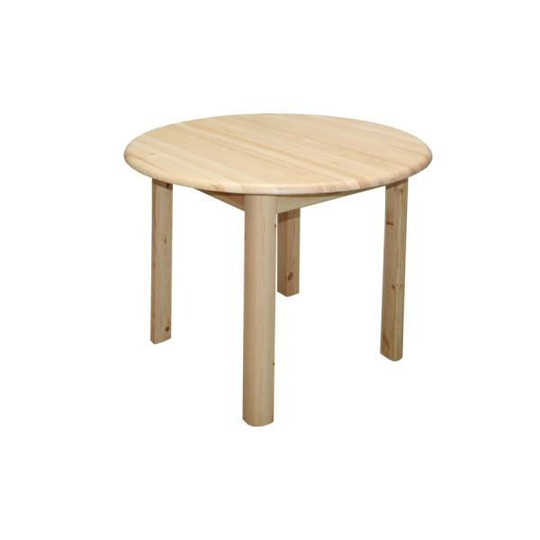 Pevný okrúhly stôl dia. 50 cm, kuchyňa, jedáleň, bar
