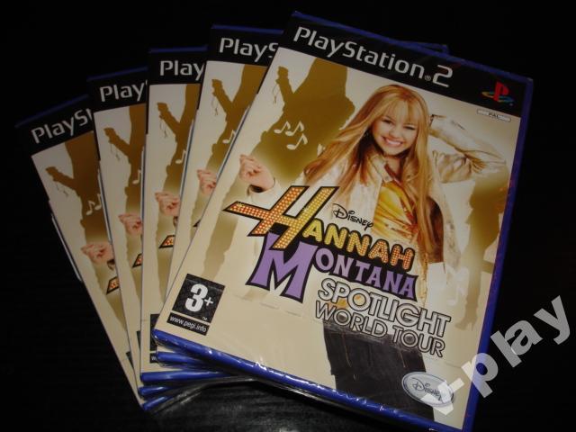 Hannah Montana: Spotlight World Tour hry PS2