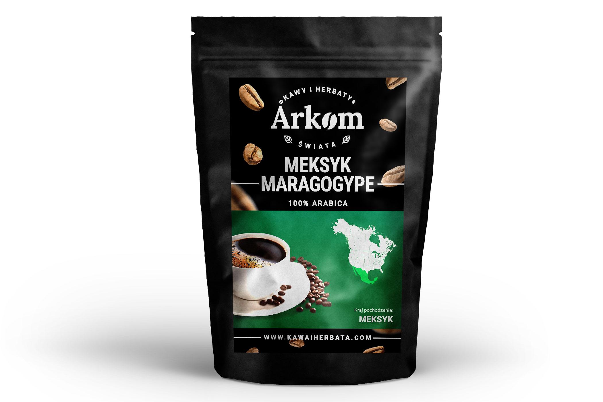 Kawa Arabica Meksyk Maragogype 1kg 7109130380 Allegro Pl