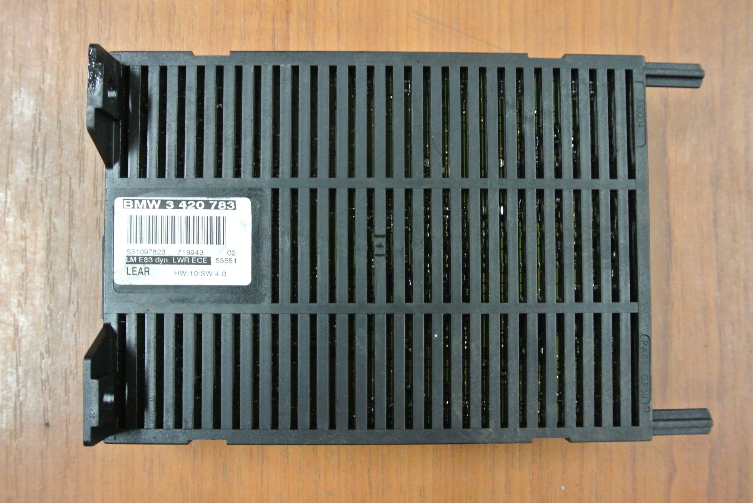 BMW E83 X3 MODUŁ STEROWNIK SWIATEŁ 3420783