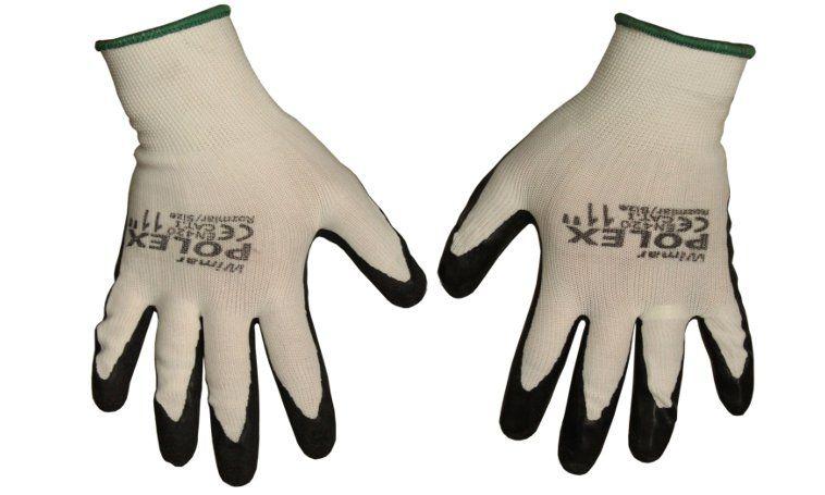 Pracovné rukavice Polex 11 XXL čierny 1 pár