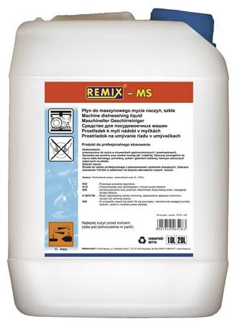 Купить РЕМИКС MS 20 л-Жидкость для очистки посудомоечных машин, посудомоечные машины на Otpravka - цены и фото - доставка из Польши и стран Европы в Украину.