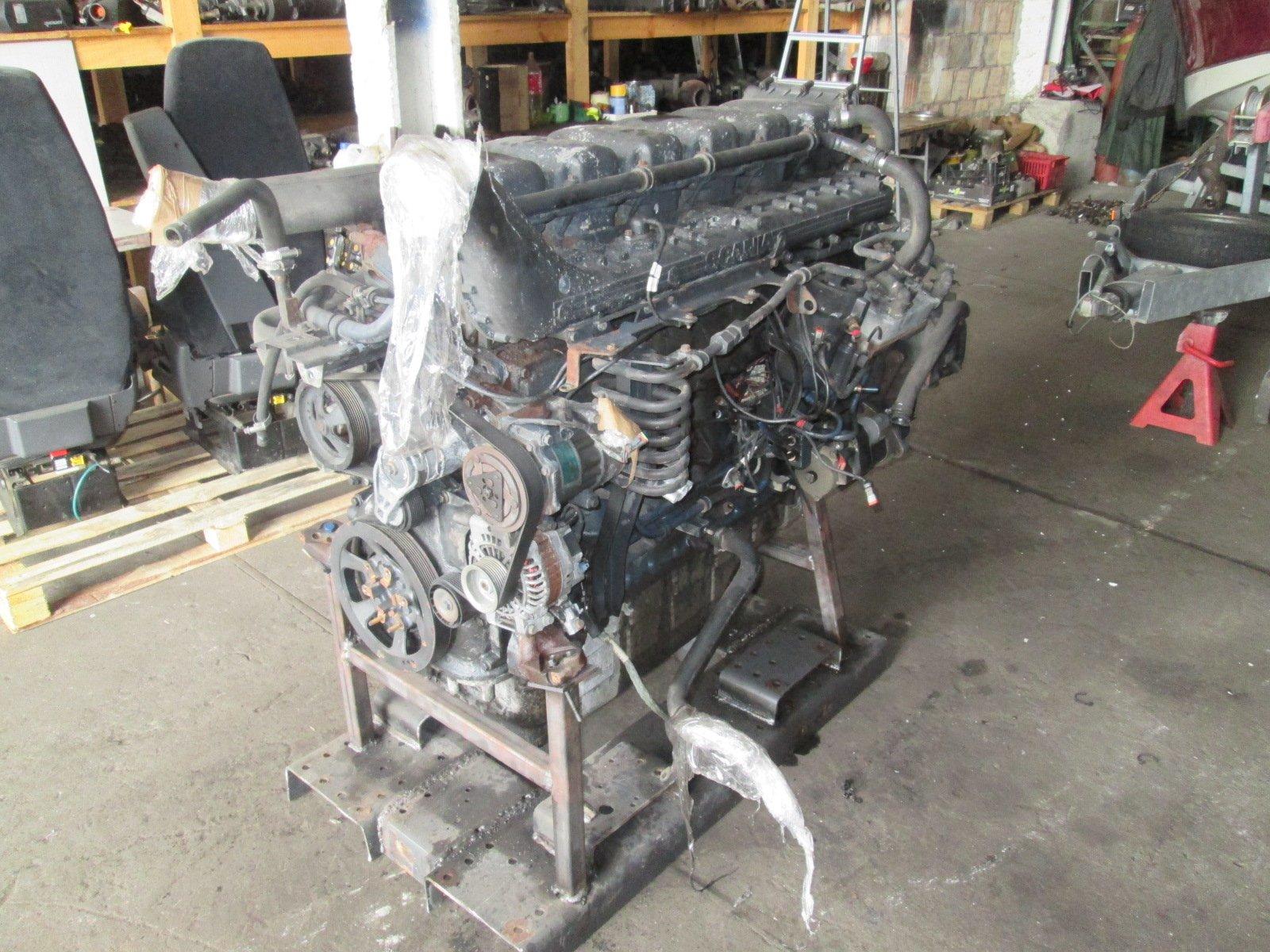 стойка двигатель dc1215 hpi евро 5 scania r 420km