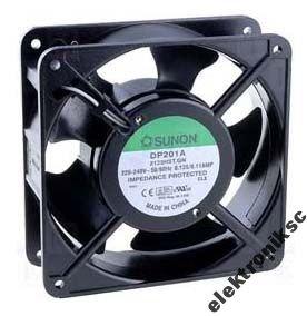 Ventilátor 230VAC 120x120x38mm DP201A2123HST SLUNON