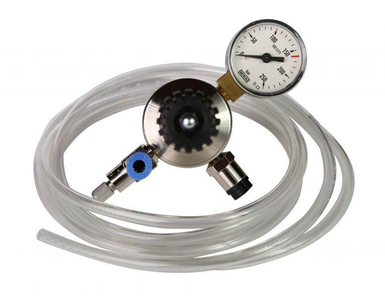 Aqua Art Redukcia CO2 _ pre akvária, a _ 1 tlakomer