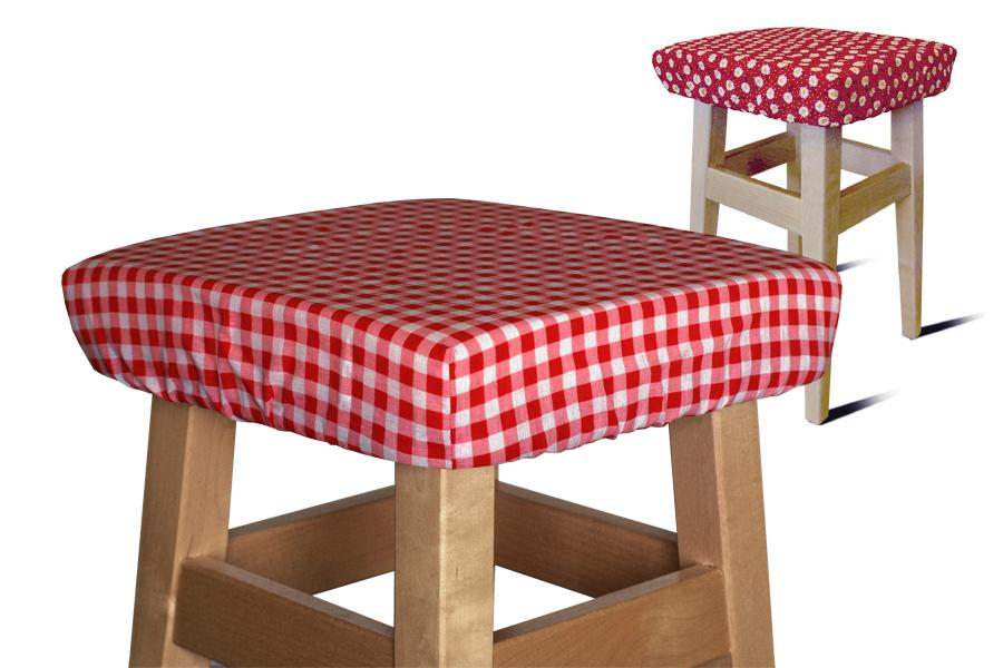 KWADRATOWA poduszka na taboret stołek krzesło 30cm