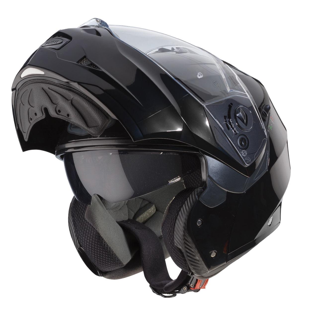 Купить Caberg DUKE II SMART черный с открытой челюстью размер M на Otpravka - цены и фото - доставка из Польши и стран Европы в Украину.