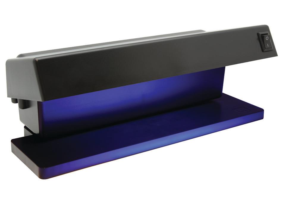 Tester bankovky profesionálne UV 2 fluorescenčné lampy