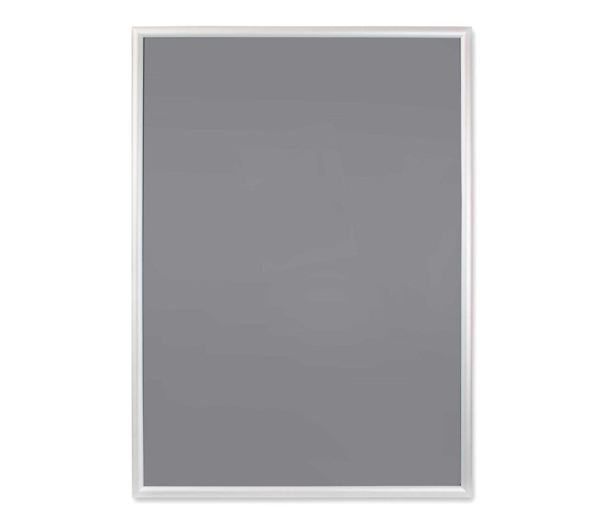 для постеры стекло в алюминиевой рамке очень сложно